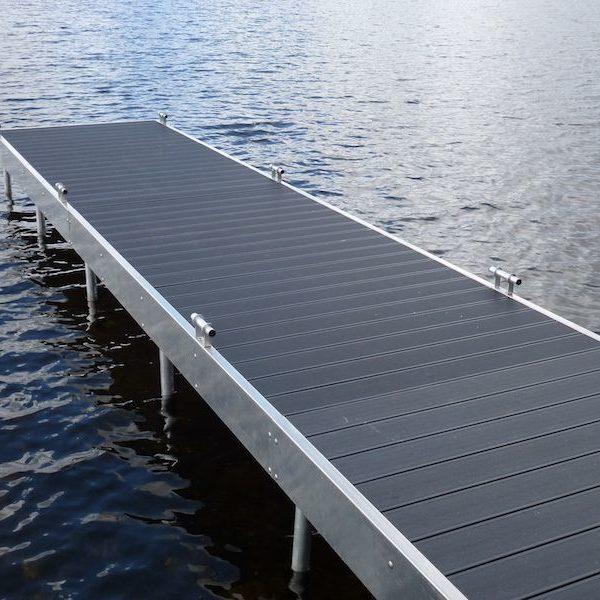 Inspektion af bådebro og badebroer